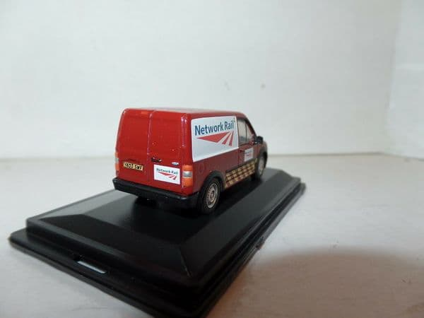 Oxford 76FTC009 FTC009 1/76 OO Ford Transit Connect Network Rail Red Jarvis